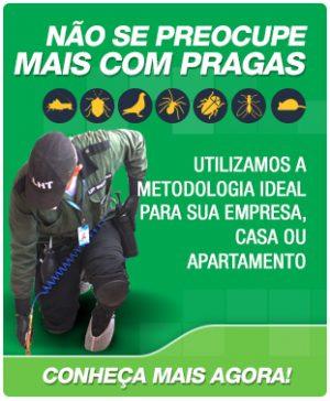 Empresa especializada em controle de pragas urbanas, usando a metodologia de Manejo Integrado de Pragas